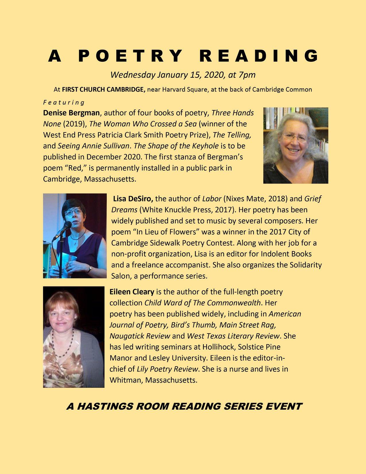 Hastings Room-Jan 15reading